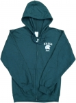 Mom Full Zip Hoodie - Green