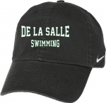 Swimming Nike Adjustable Velcro Cap - Black