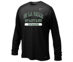 *Swimming Black Long Sleeve Dri-Fit T-Shirt**Special Order**
