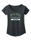 *Swimming Women's Charcoal Grey Scoop-Neck T-Shirt**Special Order**