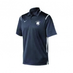*Tennis Charcoal Grey Dri-Fit Polo *** Special Order Only *** (Order by Feb 27th)