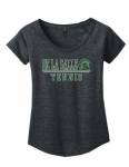 *Tennis Women's Charcoal Grey Scoop-Neck T-Shirt***Special Order Only***(Order by Feb27th)