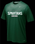 * Trap Team - Green Short Sleeve Dri-Fit T-shirt - Special Order