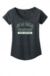 *Track & Field Women's Charcoal Grey Scoop Neck T shirt - Special Order - Order by March 6th)
