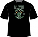 * NCS-Soccer-2018-Black Cotton T-shirt**Special Order**