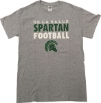 *2017 Football T-Shirt - Grey