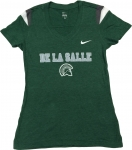*Women's Nike V-Neck T-Shirt - Green