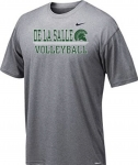 *Volleyball Charcoal Grey Short Sleeve Dri-Fit T-Shirt***Special Order Only***(Order by Feb27th)