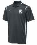 *Volleyball Men's Charcoal Grey Dri-Fit Polo**Special Order Only**(Order by Feb27th)
