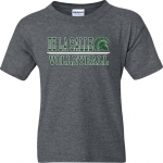 *Volleyball Charcoal Grey COTTON T-Shirt*** Special Order Only***(Order by Feb 27th)