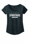 Water Polo - Women's Charcoal Grey Scoop-Neck T-Shirt**Special Order**(Order by Sept 21st, to receive Oct 1st)
